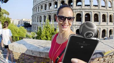 La cámara para fotos y vídeos en 360º de Insta360