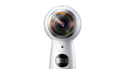 Samsung actualiza su Gear 360 con un nuevo agarre y grabación en 4K