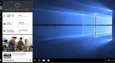 Ya es posible configurar un PC con Windows 10 mediante la voz