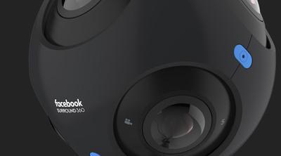 También tendremos una cámara 360 de la mano de Facebook
