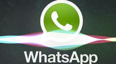 Lo nuevo del asistente Siri es leerte los WhatsApp