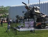 China se apunta a la batalla de robots gigantes entre Japón y Estados Unidos