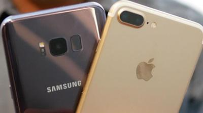 iPhone 7 Plus VS Samsung Galaxy S8: la interminable batalla entre Apple y Samsung