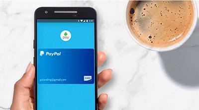 PayPal es ya una de las opciones de Android Pay en Estados Unidos