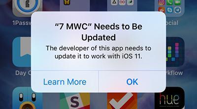 A partir de iOS 11, despedíos de las aplicaciones de 32 bits