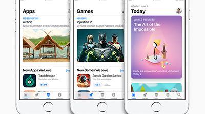 Una App Store completamente rediseñada con iOS 11