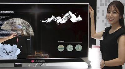 LG cautiva con una nueva pantalla OLED transparente
