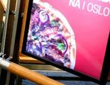 Una pizzería noruega ha estado sacando datos de sus clientes a través de anuncios en la calle