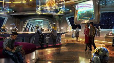 Disney prepara un hotel de Star Wars donde quieren que todo cliente tenga una historia narrativa