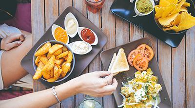 Consiguen detectar los ingredientes en la comida con una fotografía