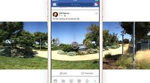 Facebook permite hacer fotos de 360 grados en Android