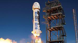 Jeff Bezos retrasa al 2019 sus planes de turismo espacial
