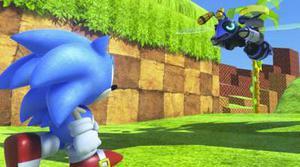 También tenemos a Sonic de la mano de la Realidad Virtual