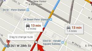 Contar calorías es lo nuevo de Google Maps