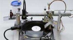 La máquina grabadora de vinilos ya está aquí
