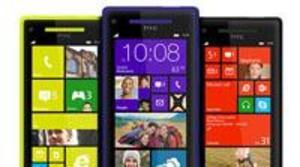 HTC presentó sus smartphones 8X y 8S con el apoyo de Steve Ballmer
