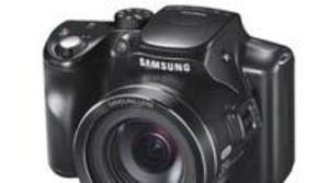 Samsung WB2100, zoom de alta calidad en el cuerpo de una compacta