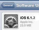 iOS 6.1.2 podría estar disponible esta misma semana