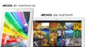 Archos lanza al mercado tres nuevos tablets con procesadores quad core