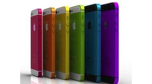 El iPhone 5S y el iPhone 'low cost' llegarán en varios colores