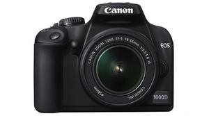 Canon reembolsará hasta 300 euros al comprar artículos de la gama EOS
