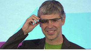 Larry Page imagina el futuro con Google Glass