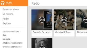 Google Play Music Premium ya está disponible en España