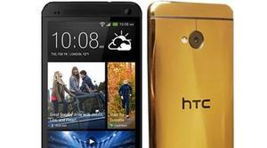 Un HTC bañado en oro de 24 quilates por 2300 euros