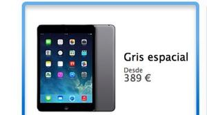 Ya disponible el iPad Mini con pantalla retina