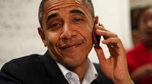 Barack Obama no puede usar iPhone