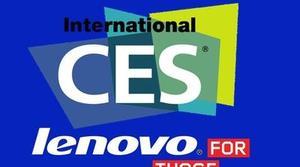 CES 2014: Lenovo muestra nuevos ordenadores, tablets y monitores