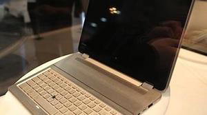 CES 2014: El portátil del futuro de Toshiba es un todo en uno