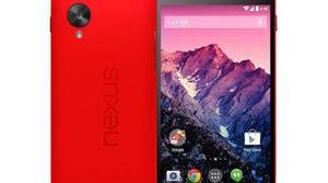 Ya está disponible el Nexus 5 rojo en Google Play