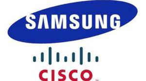 Samsung y Cisco compartirán patentes durante 10 años