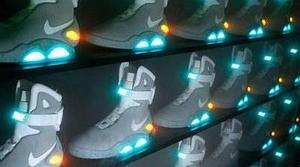 Nike mejorará las zapatillas de 'Regreso al futuro' en 2015