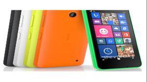 Nokia Lumia 630 y su colorido diseño