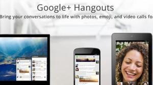 Google permite hacer Hangouts desde Outlook