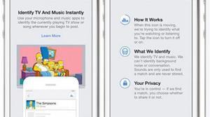 Facebook compite con Shazam