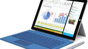 Surface Pro 3 llegará el 28 de agosto a España
