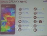 Samsung Galaxy Apha: todas sus especificaciones confirmadas