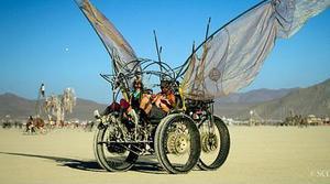 Zuckerberg, Page y Musk se van al Burning Man