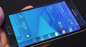 Galaxy Note Edge, el primer smartphone con pantalla doblada
