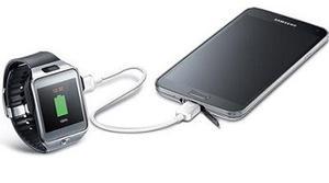 Samsung y su cable para compartir bateria