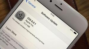 Apple lanza iOS 8.0.2 para solucionar los problemas causados
