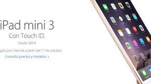 iPad Air 2 y iPad mini 3, precios y reserva en España
