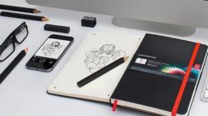 Moleskine y Adobe presentan una libreta que digitaliza dibujos