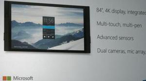 Microsoft Surface Hub, la pantalla de 84 pulgadas 4K con Windows 10