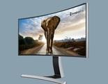 Los nuevos monitores con pantalla curva de Samsung prometen