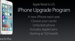 Estrena iPhone cada año con el iPhone Upgrade Program