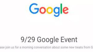 Google lo hace oficial: tendremos evento el próximo 29 de septiembre